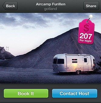 This Swedish trailer can be yours for the low, low price of $207 a night.