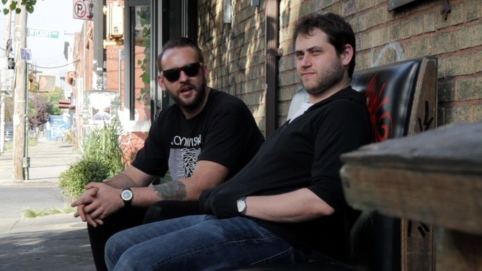 Marshall Thompson, left, and Eric Feldman want to revive Bushwick's brewing legacy.