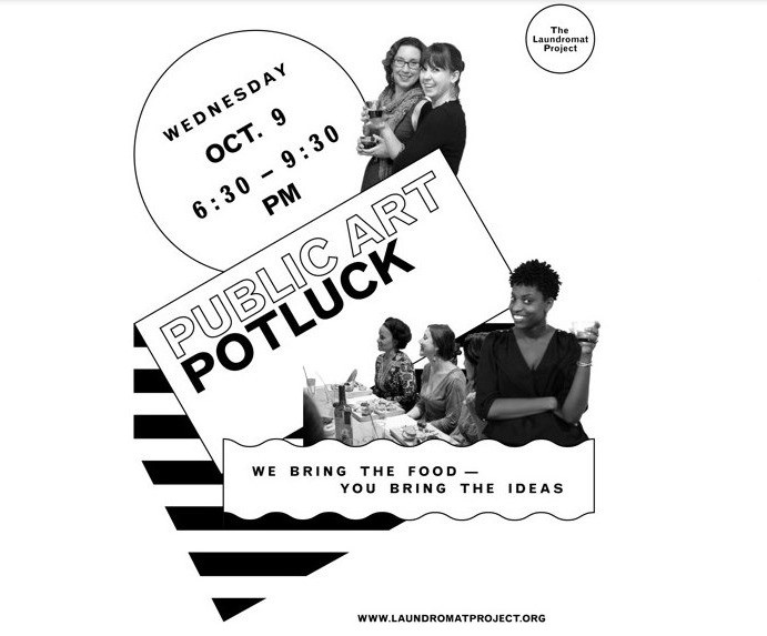 Looking to break out your creativity during the government furlough? Why not check out the 4th Annual Public Art Potluck this Wednesday