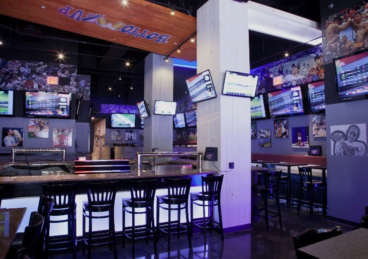 An inside look at Murray Hill's newest place to watch the game ... and eat sushi