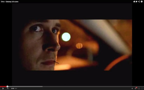 Which song would you pair with this scene in Drive?