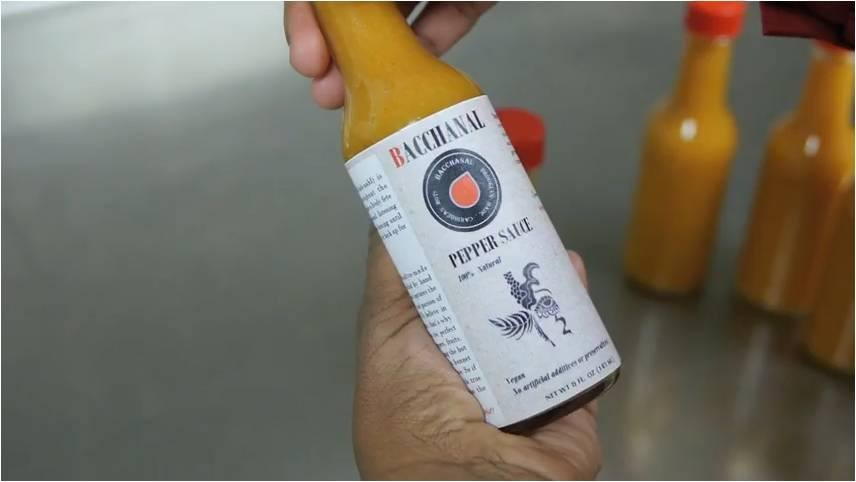 Need a hot stocking stuffer? Why not check out Brooklyn's own Bacchanal Sauce?