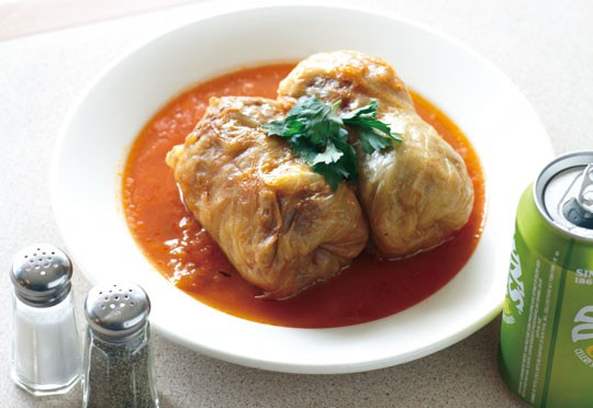 Stuffed Cabbage at Mill Basin Kosher Delicatessen