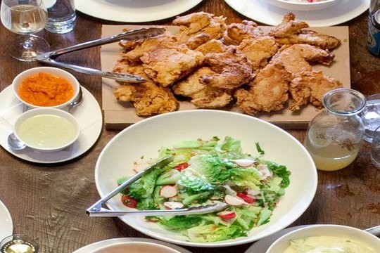 Getting stuck inside The Ace Hotel might just lead to a fried chicken feast