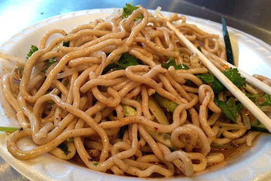 Xi'an Famous Food's cold buckwheat noodles