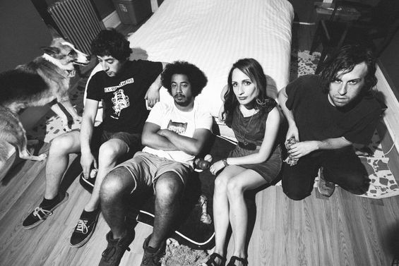 Speedy Ortiz will join Fucked Up this Saturday at Irving Plaza