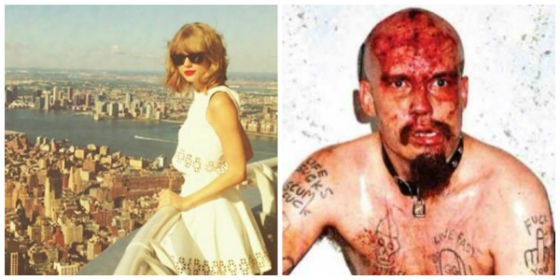 Taylor Swift and G.G. Allin: Their New Yorks are very different.