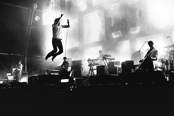 Flying high: Jarvis Cocker and Pulp
