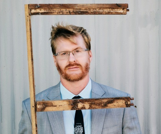 """Kurt Braunohler presents his jet ski quest """"Roustabout"""" at The Bell House February 25."""