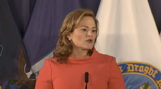 Melissa Mark-Viverito delivers her State of the City address.
