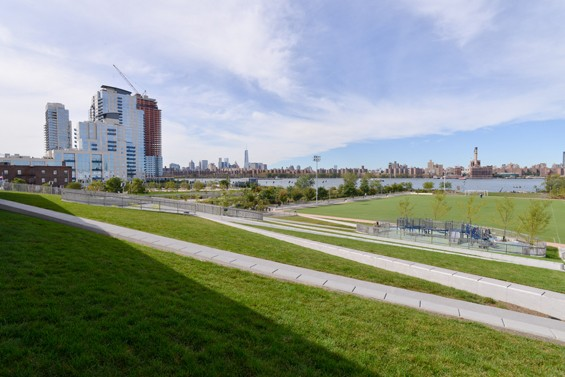 Bushwick Inlet Park, as it stands now in its nine acres of glory