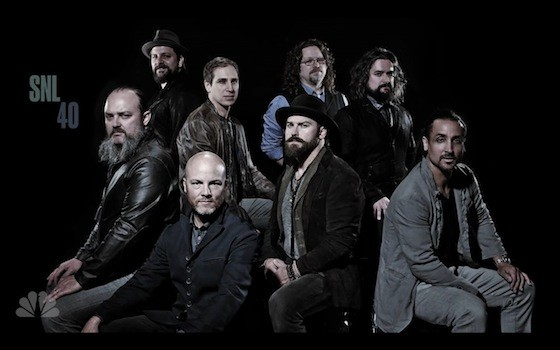 Zac Brown Band made their Saturday Night Live debut on 3/7/15