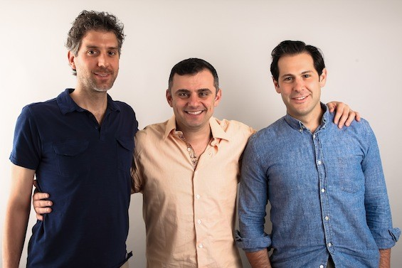 Founders, from left to right, Mike Montero, Gary Vaynerchuk, Ben Leventhal