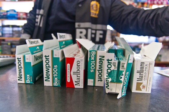 Smuggled Untaxed Cigarettes Are Everywhere In New York City