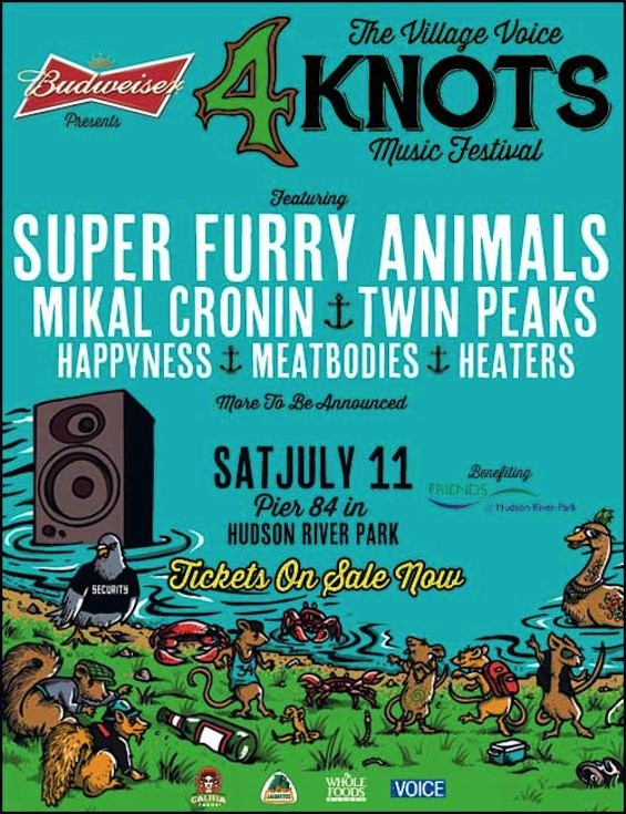 Super Furry Animals are the latest act to join the 4Knots 2015 lineup.