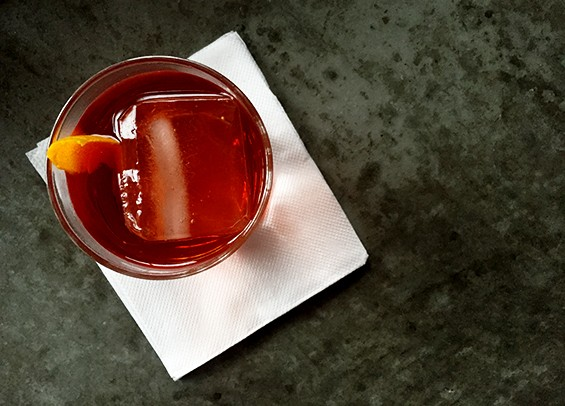 Battello's cocktails are crafted by barman Ray Keane, a veteran of wd~50 and the Aviary.