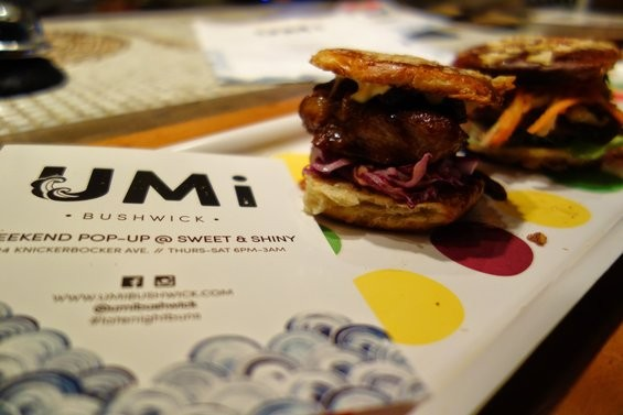 Umi Bushwick, a pop-up specializing in Asian-style buns, is now open.