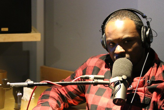 Taxstone taping his podcast