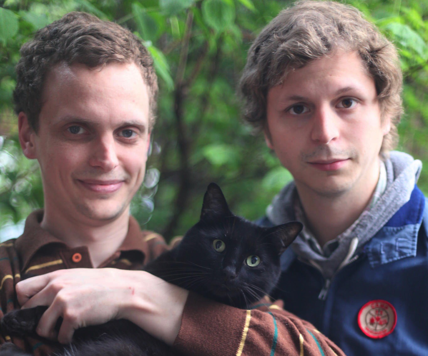 Alden Penner and Michael Cera are hitting the road together in support of Canada in Space.