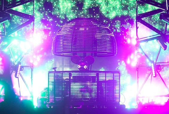 Deadmau5 at Governors Ball, 6/6/15