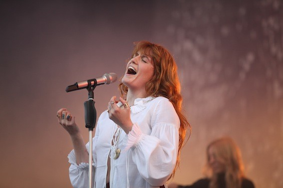 Florence Welch of Florence + The Machine at Governors Ball, 6/5/15