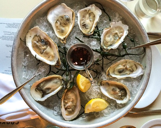 East Coast oysters at Tenth Avenue Cookshop