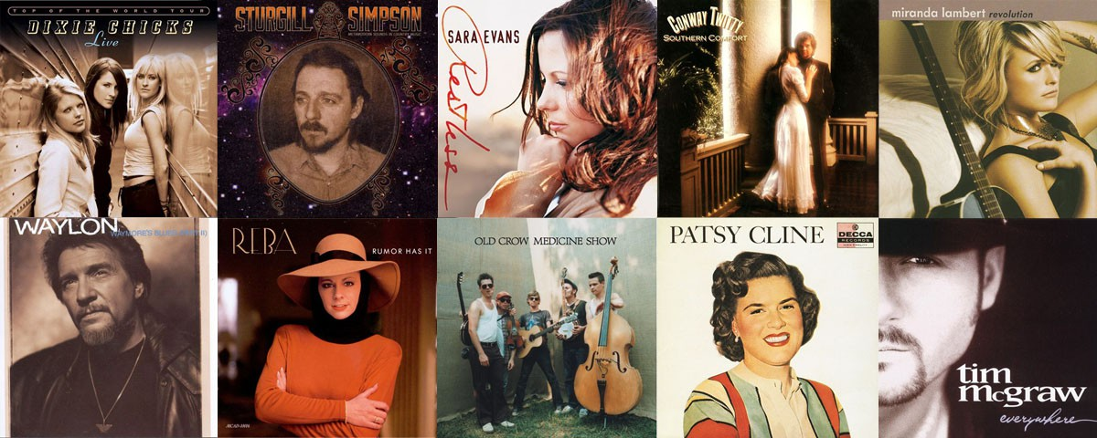 From Reba to Old Crow to Sturgill and back again, here's a batch o' songs that'll keep you from condemning country music.