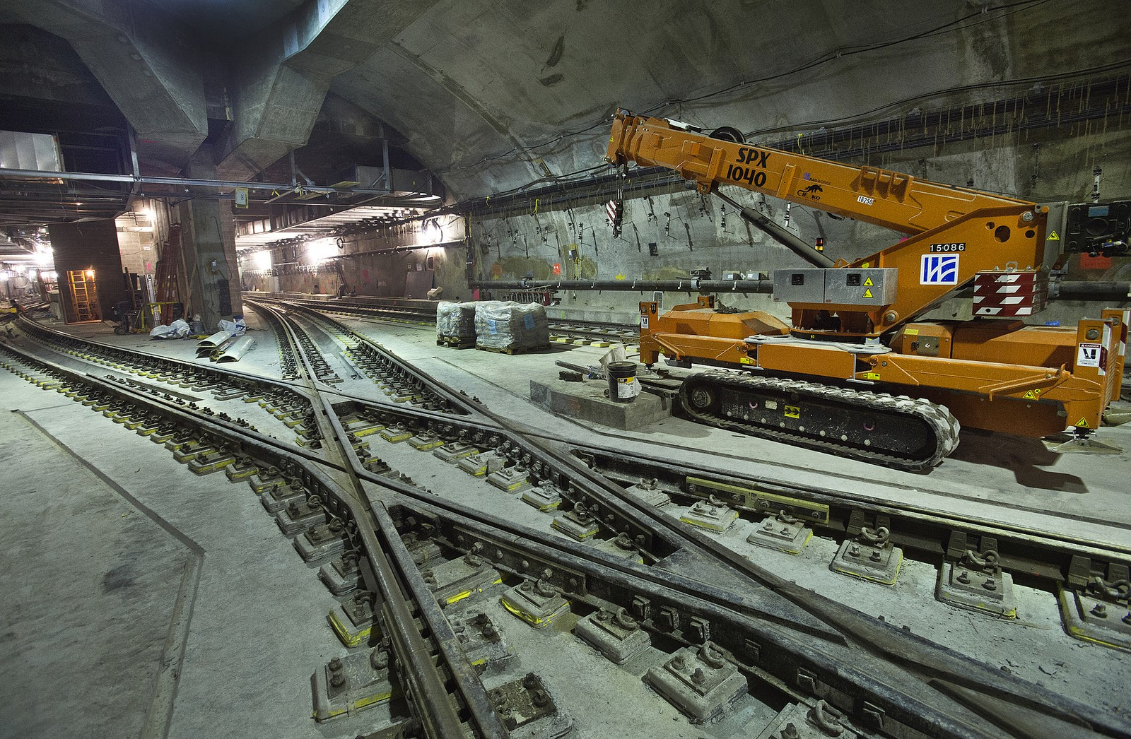 Tunneling for the 7 line extension to Hudson Yards