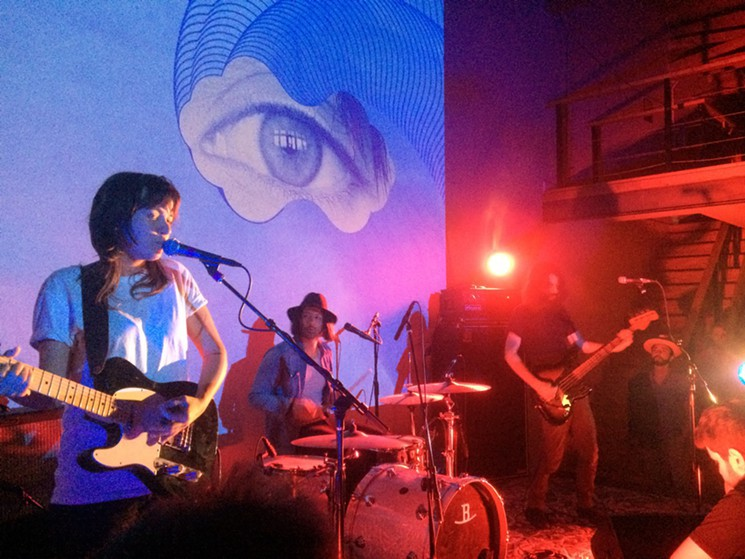 Courtney Barnett at L.A.'s Dilettante, 3/13/15