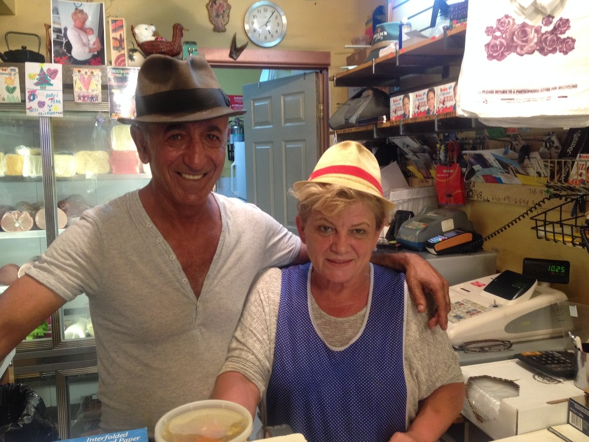 David Cohen and Grace Iwuc: Serving the finest Eastern European goods in the finest of fedoras