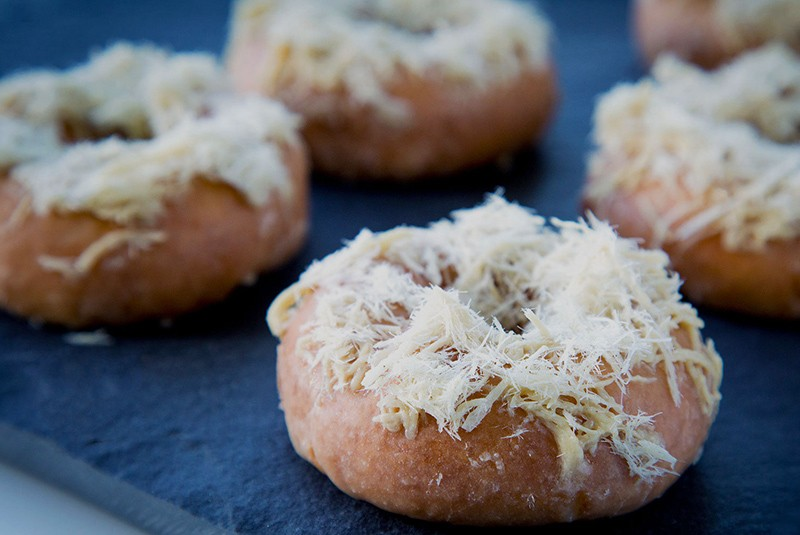Halva donuts, nutty and moist