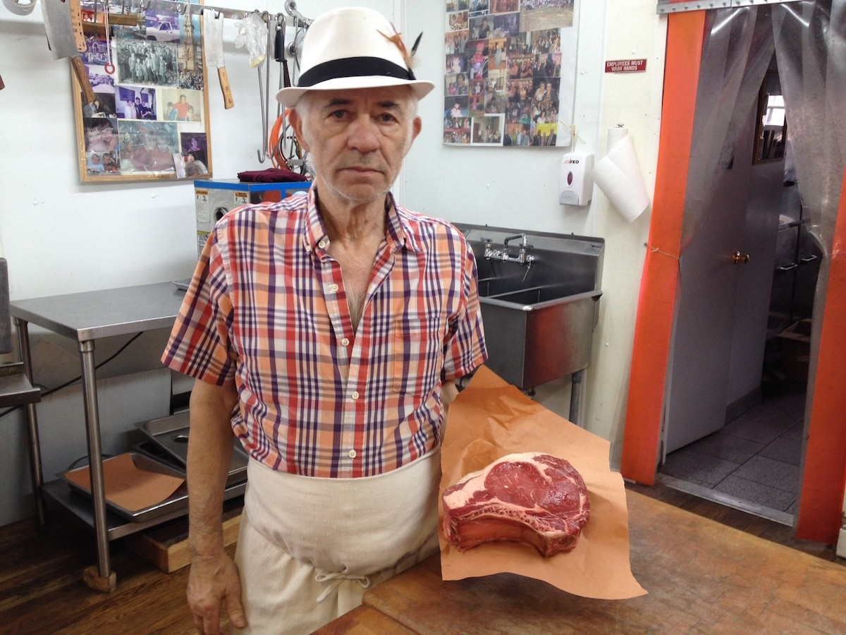 Mario Zollo: Chest hair, fedoras, and big steaks
