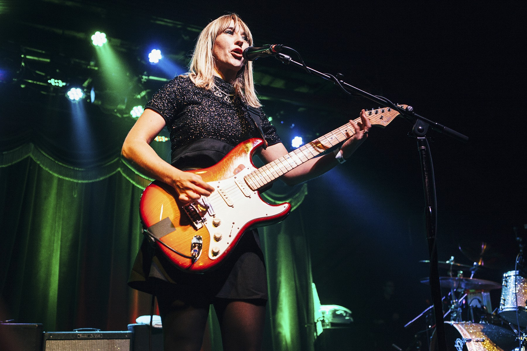 The Joy Formidable at Brooklyn Bowl, CMJ 2015