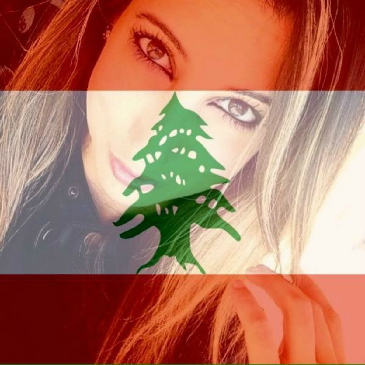 Arlene Yammine, a New York native living in Texas, has added a Lebanese-flag filter to her Facebook profile.