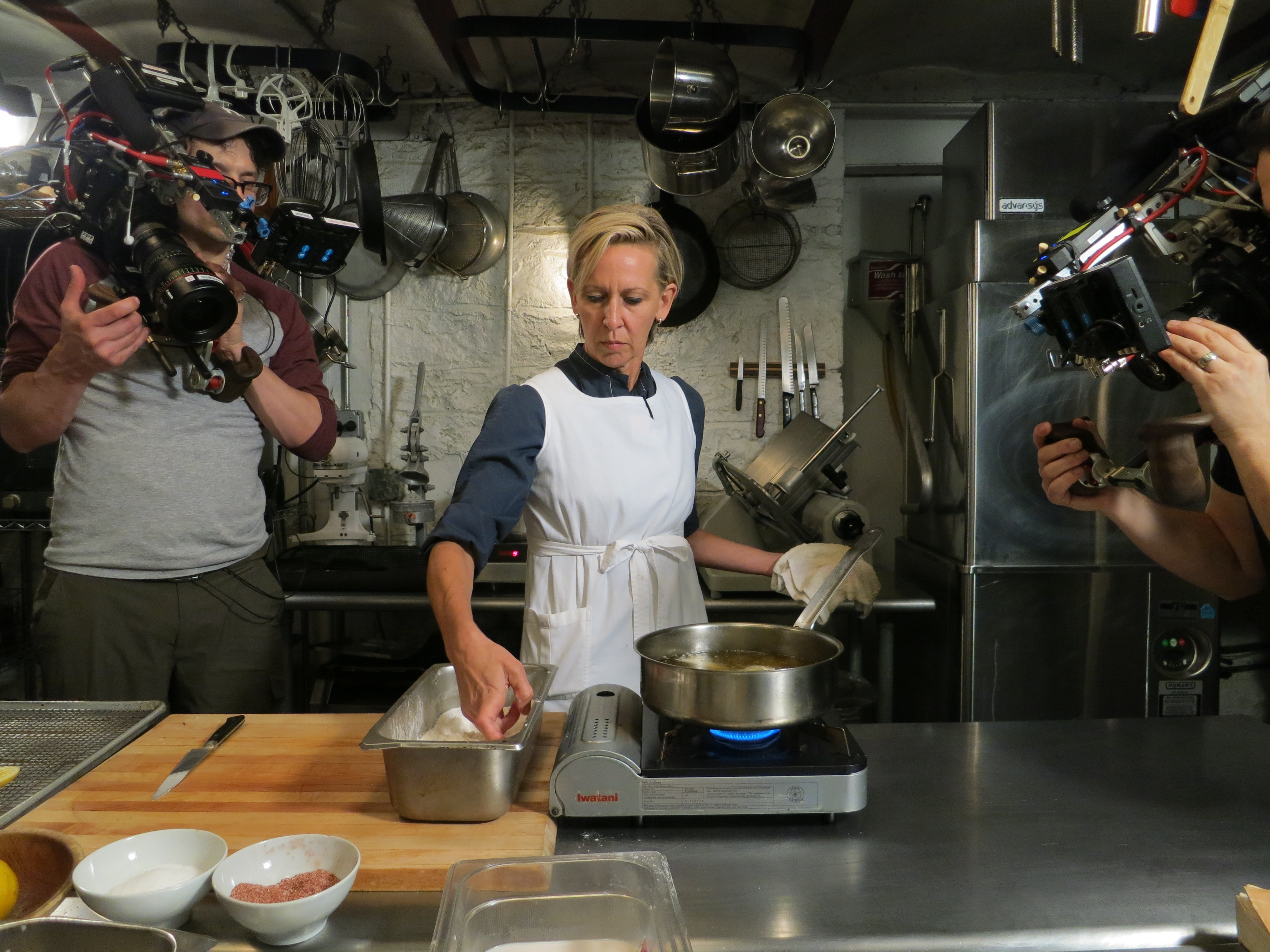 Prune's Gabrielle Hamilton is the focus of a new Mind of a Chef series.