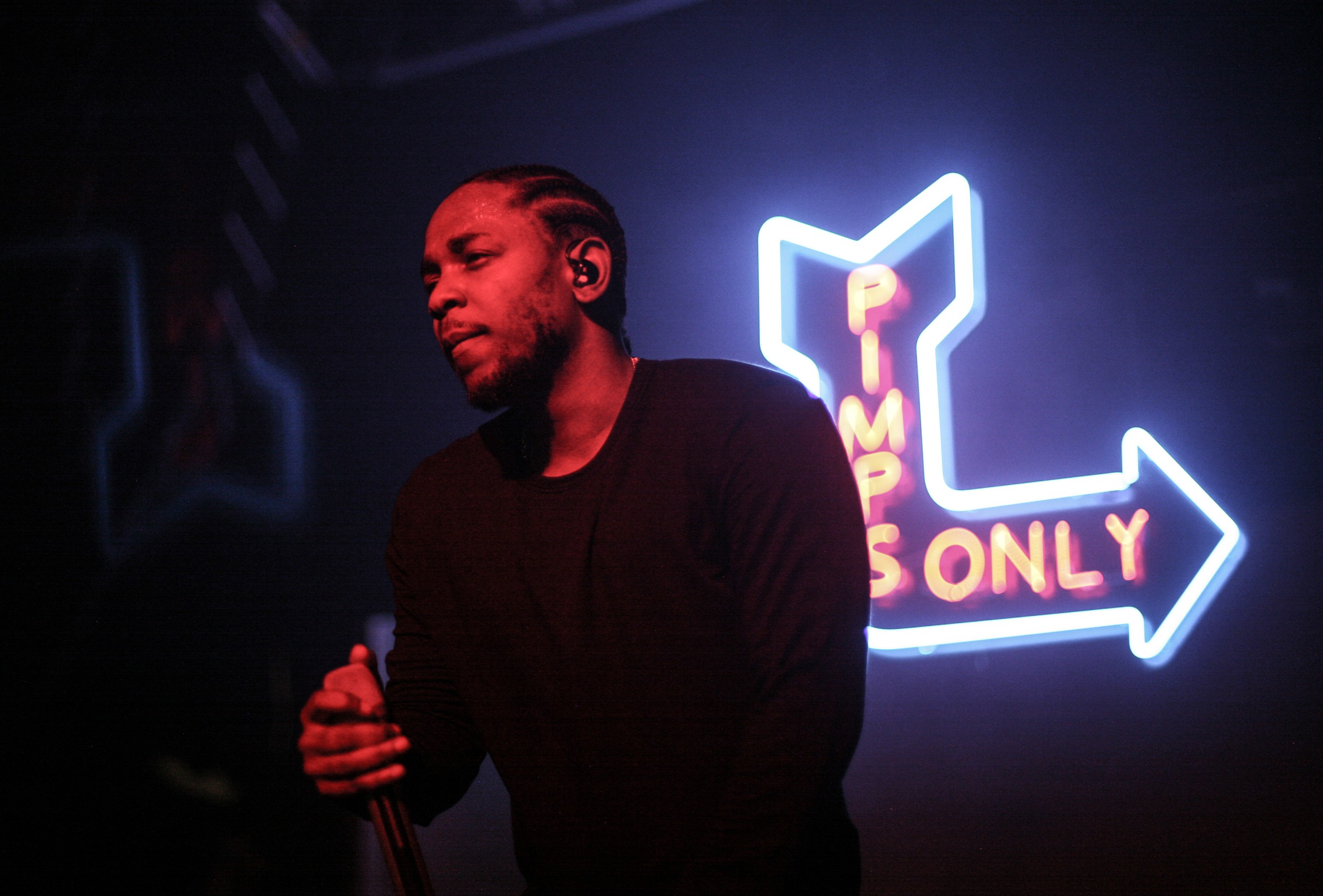 Kendrick Lamar takes the Kunta's Groove Sessions tour to Terminal 5 in NYC, November 2, 2015.