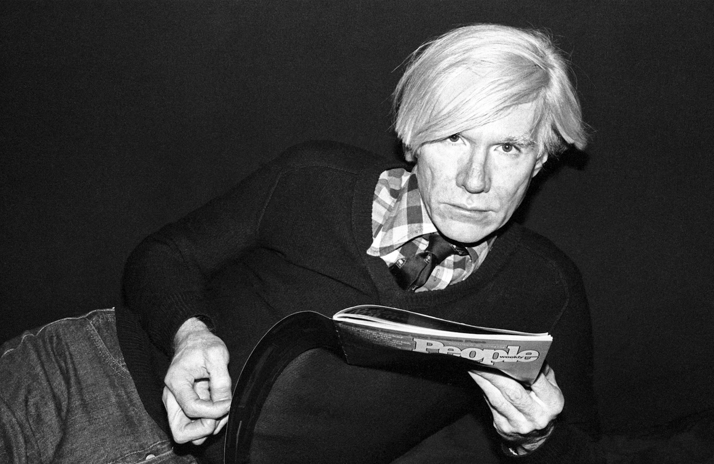 Andy Warhol in 1978