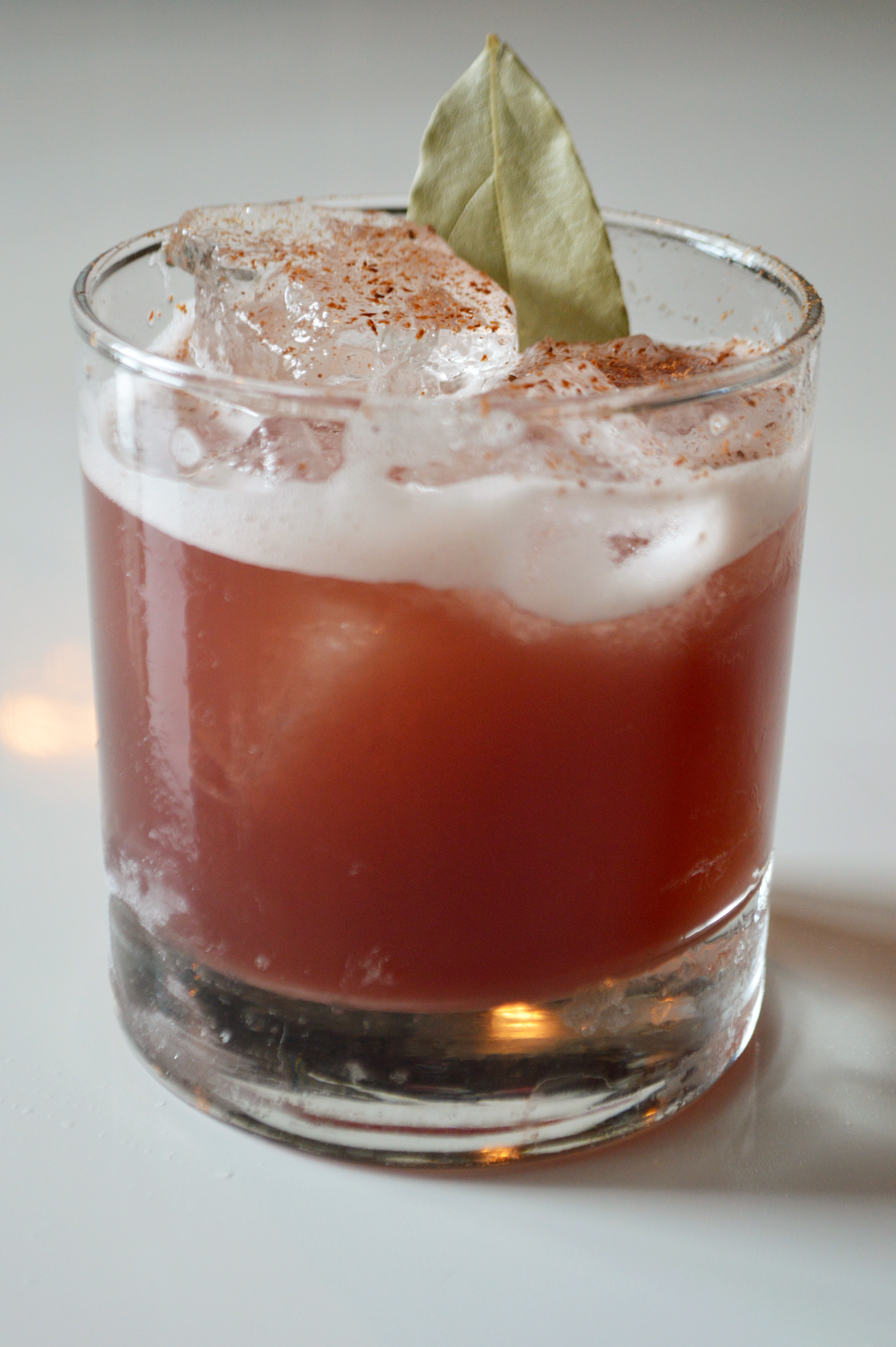 The Moose Is Loose mixes bourbon with lemon and spicy mulled wine.