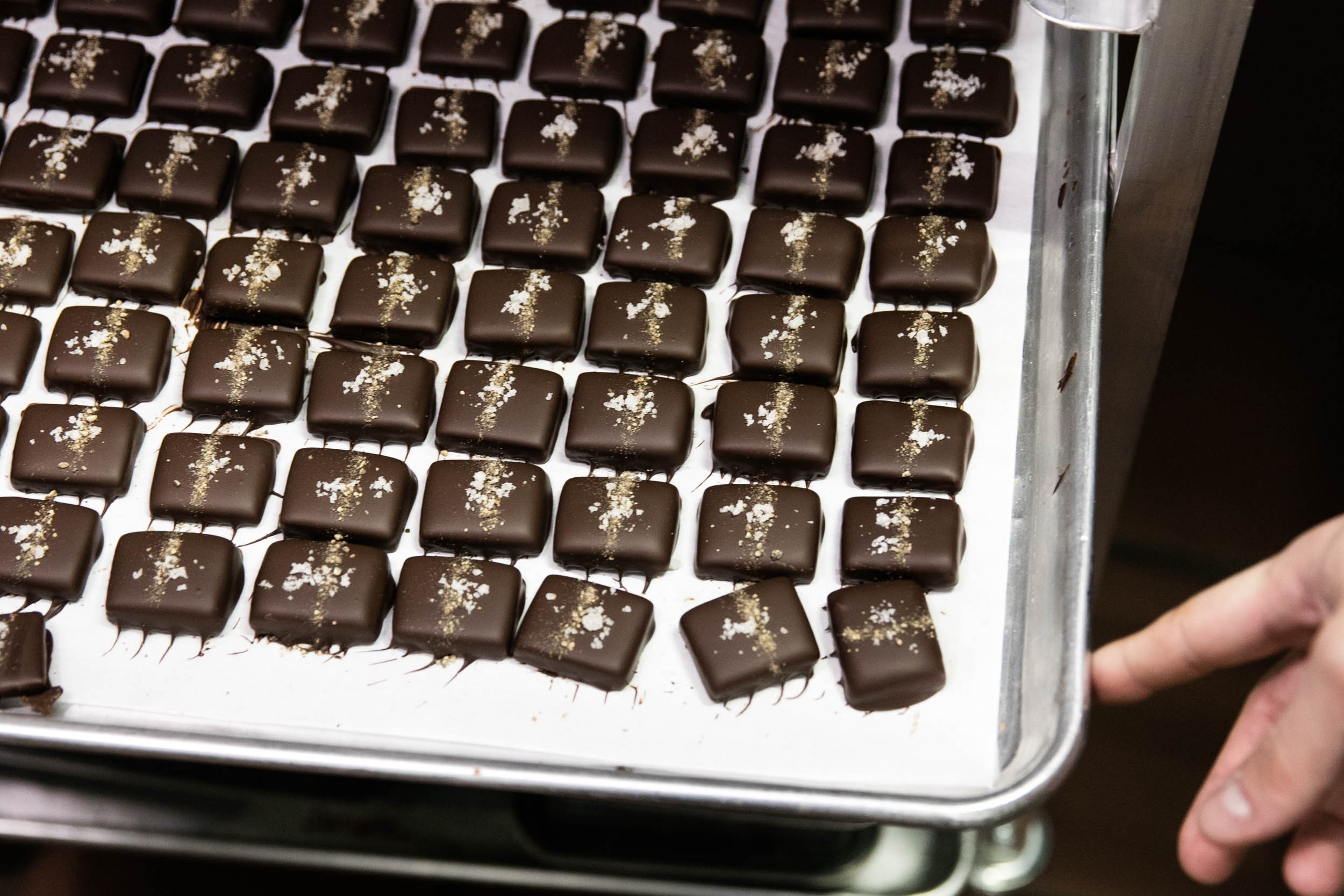 Salt and Pepper toffees