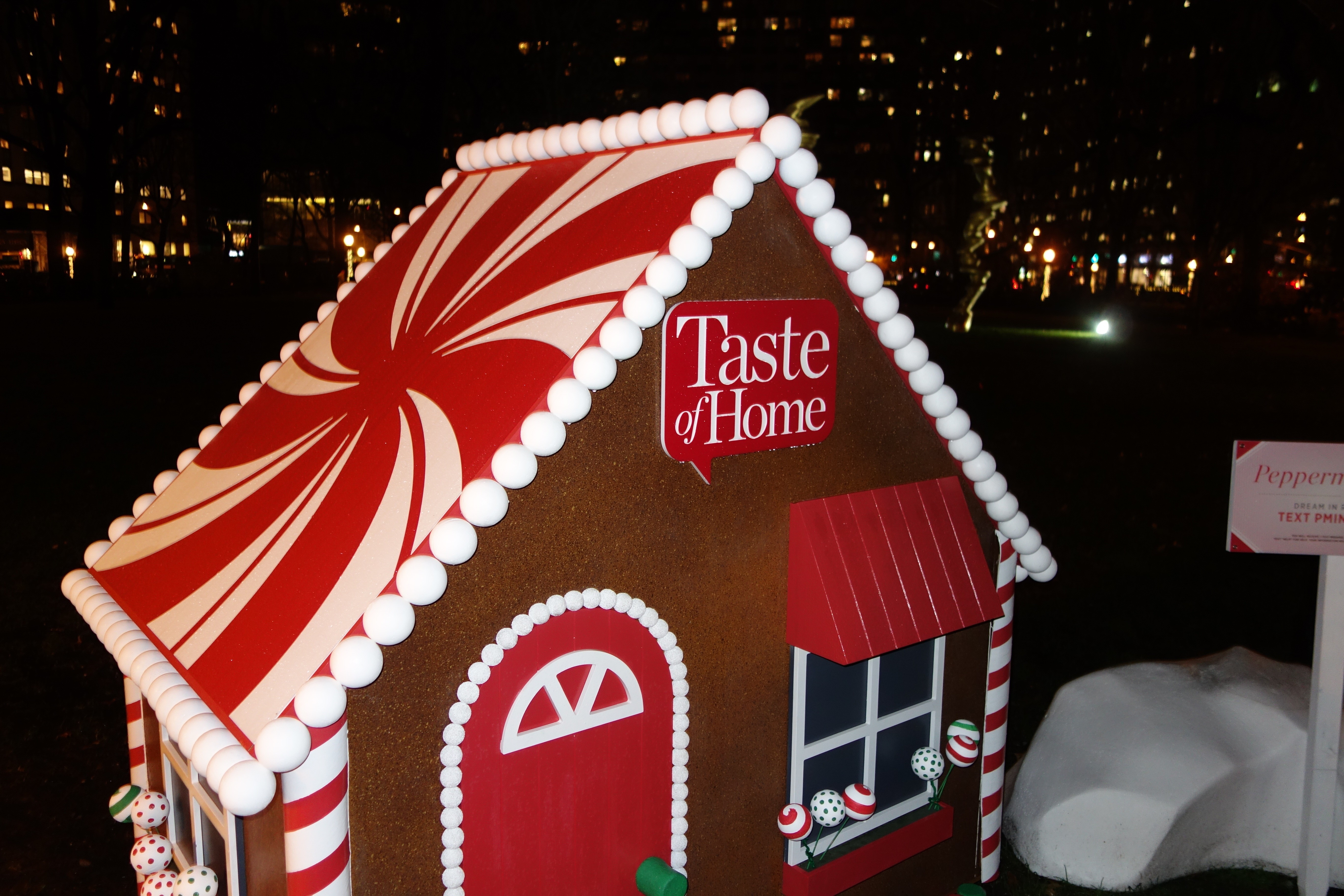 Make your own gingerbread house this weekend