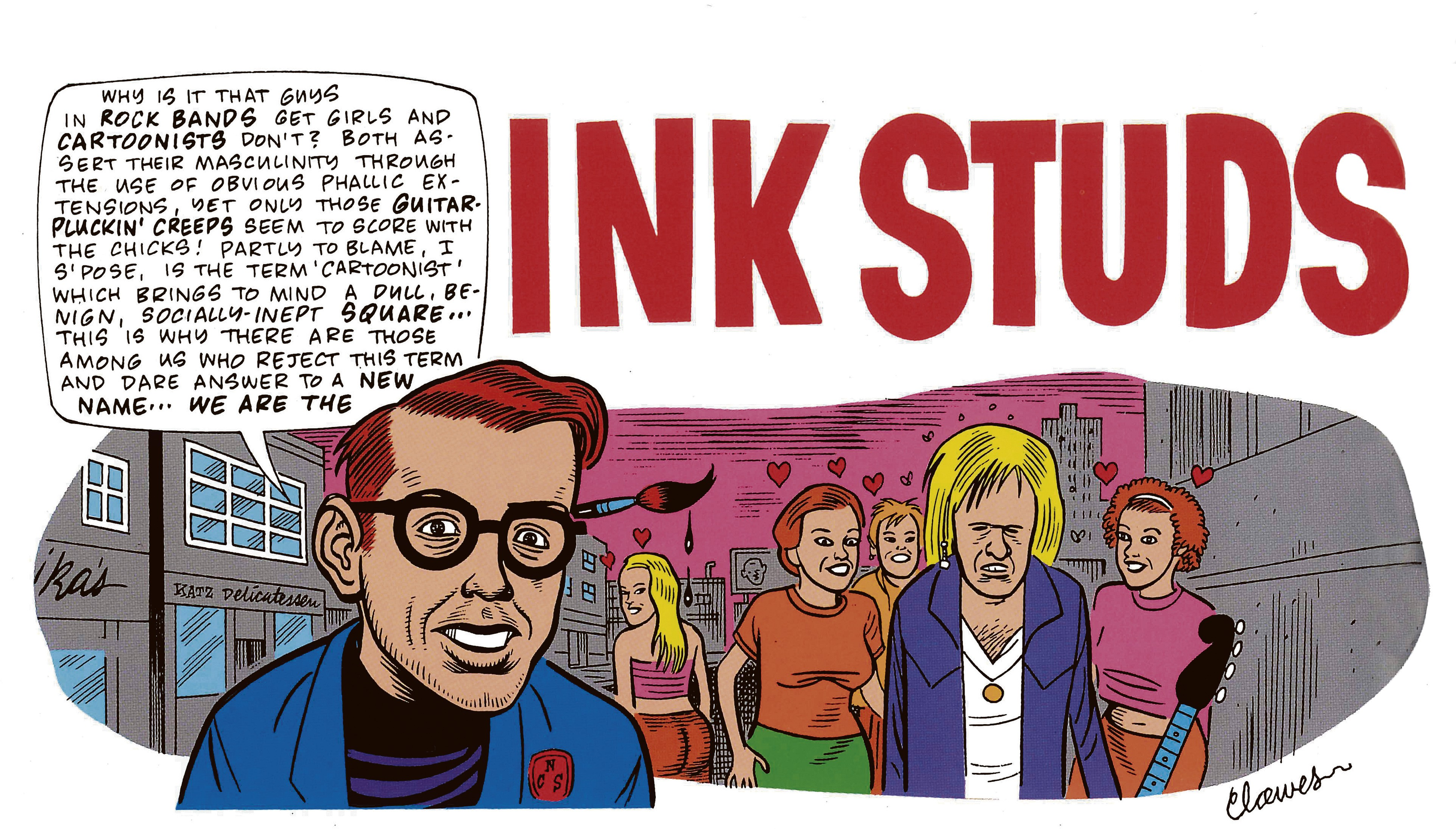 Daniel Clowes's The Complete Eightball