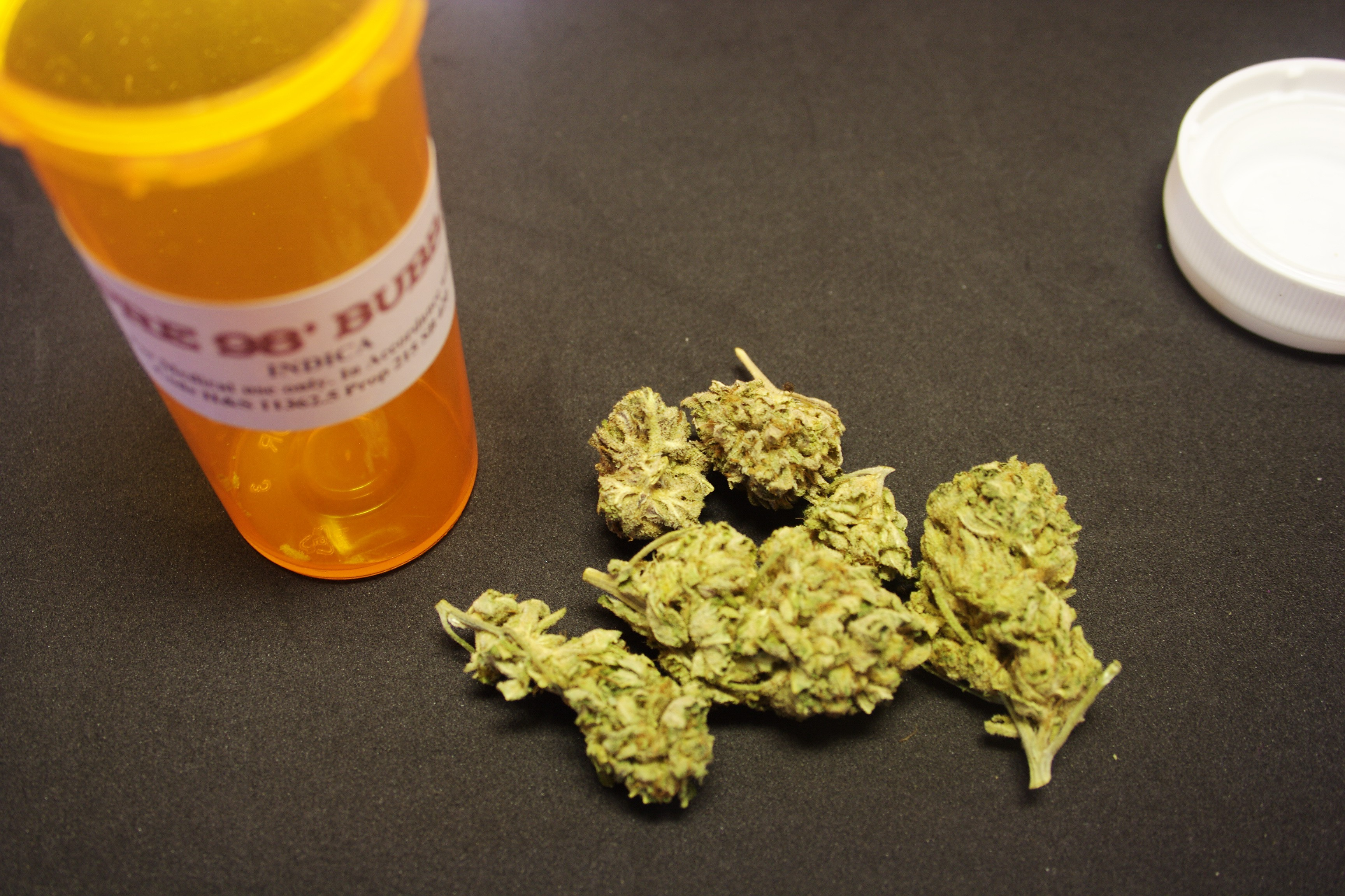 "Medical marijuana in New York does not come in ""flower"" form, as shown above."