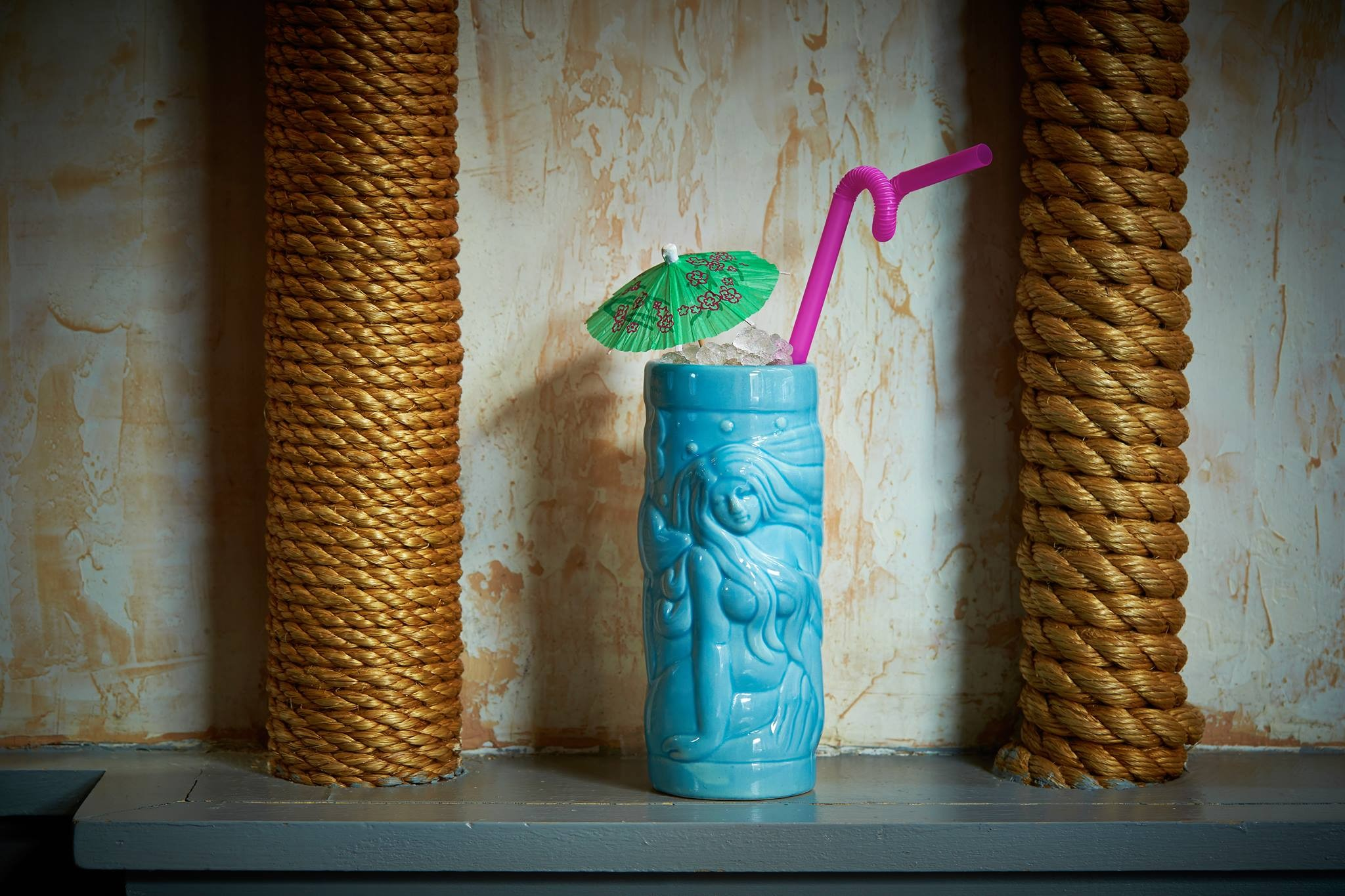 Wallflower hosts a tiki party this Sunday