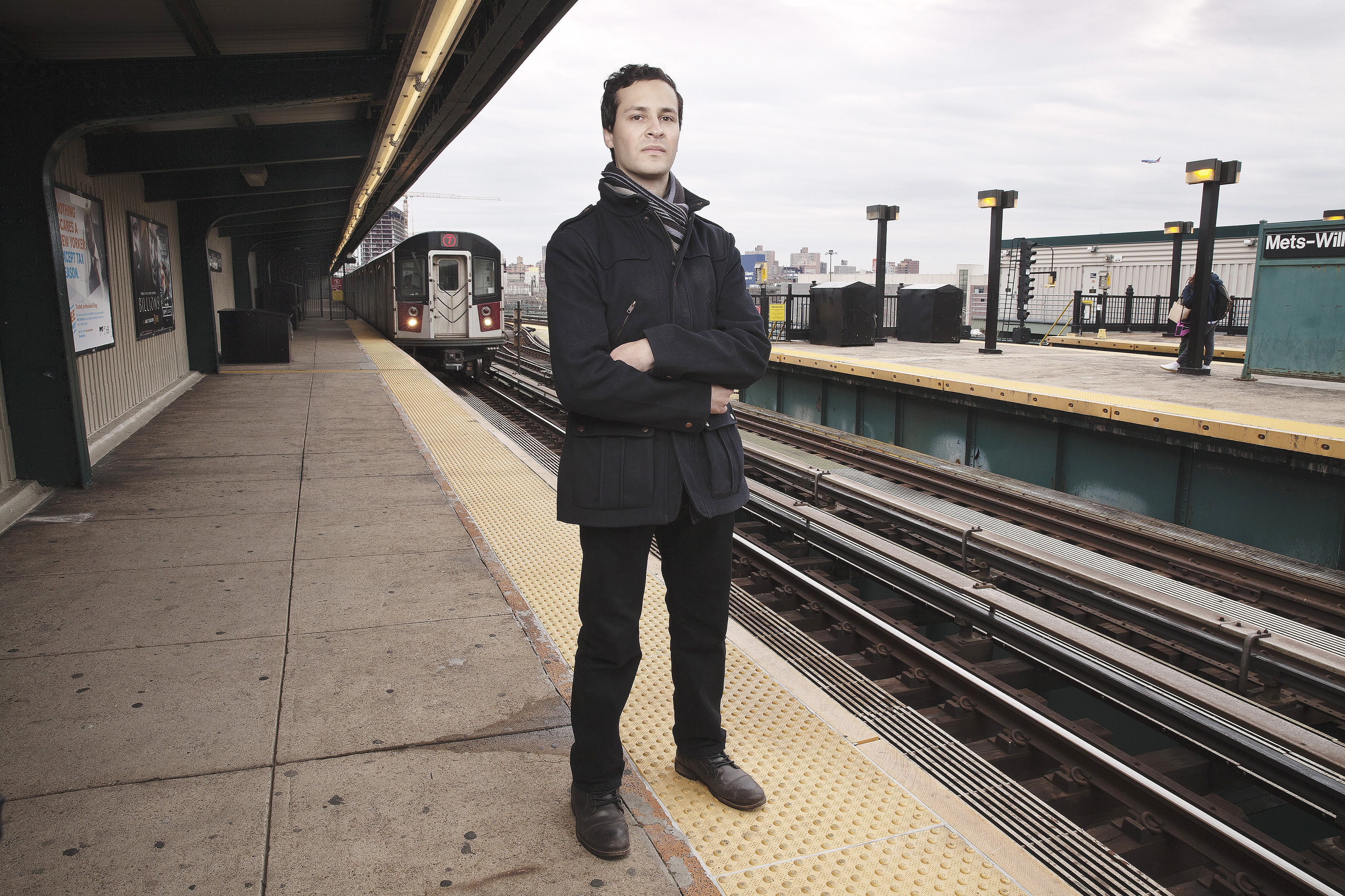 """""""Some fans cry whenever the MTA retires a train,"""" Max Diamond, a/k/a DJ Hammers, told a reporter recently. """"I don't go that far."""""""