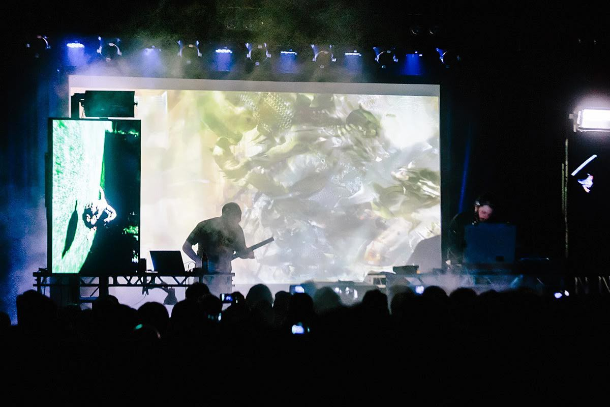 Punishment and Surprise From Oneohtrix Point Never at Warsaw