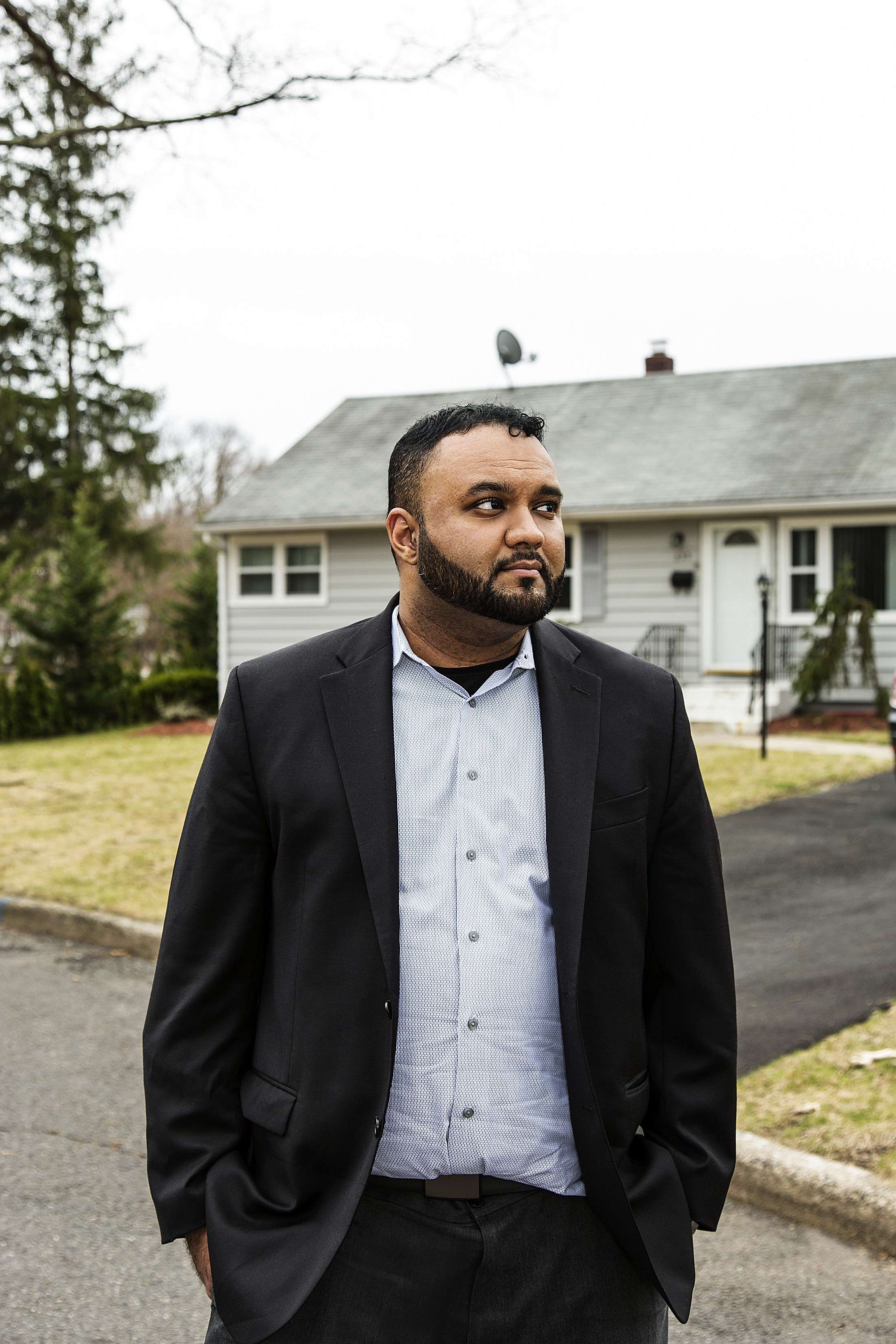 Samir Hashmi is a graduate student suing the NYPD over investigative files he believes the department compiled after 9-11.