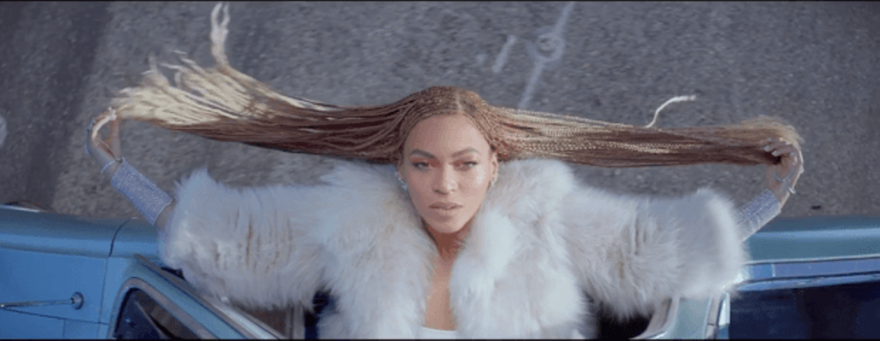 """From Beyoncé's """"Formation"""" video, released February 2016"""