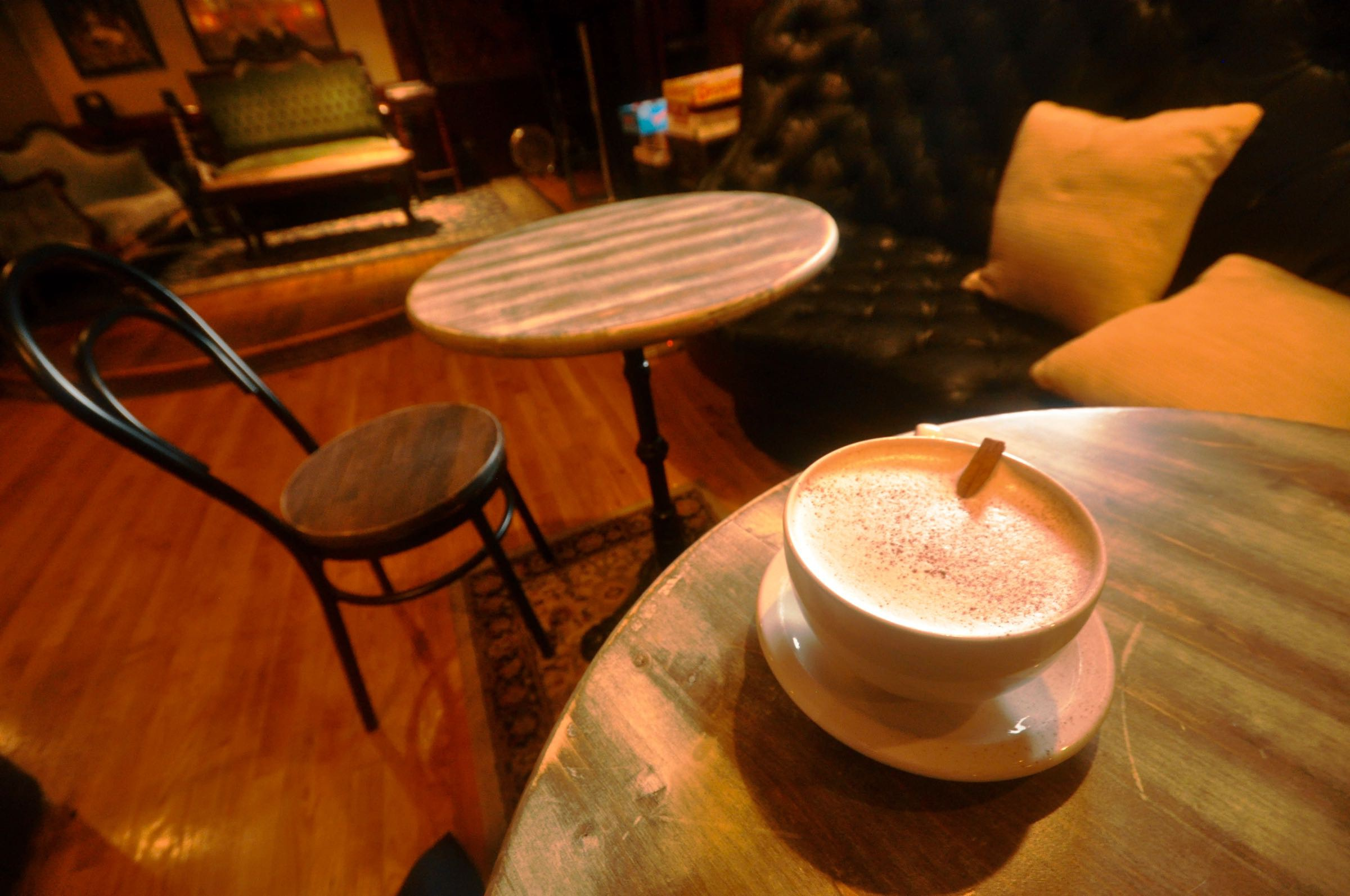 Those coming to the space for the first time as a café  will likely find a its many homey nooks appealing.