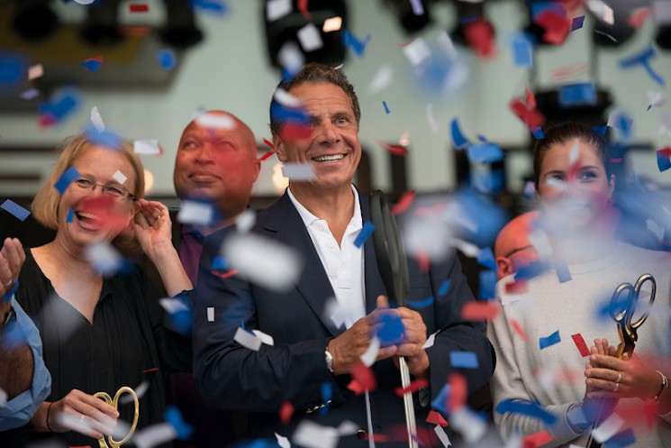 August 25, 2016 -Syracuse, NY - Governor Cuomo kicked off the newly transformed 2016 Great New York State Fair.