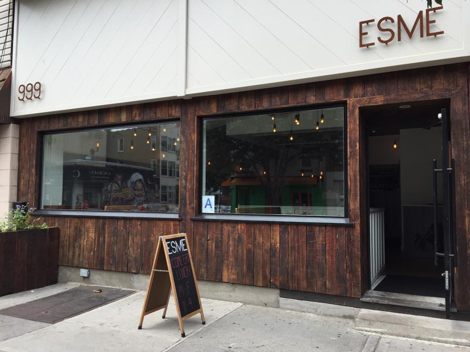 Esme is hosting a mezcal barbecue featuring ice cream from Oddfellows.